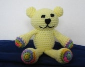 PDF - Sunshine the Teddy Bear Amigurumi Crochet Pattern - INSTANT DOWNLOAD