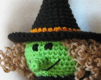 PDF - Broomhilda the Witch Amigurumi Crochet Pattern - INSTANT DOWNLOAD