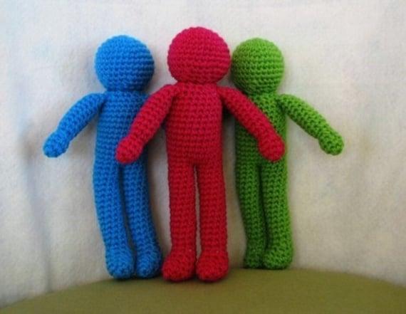 PDF Basic Character Doll Amigurumi Crochet by SherriCrochets