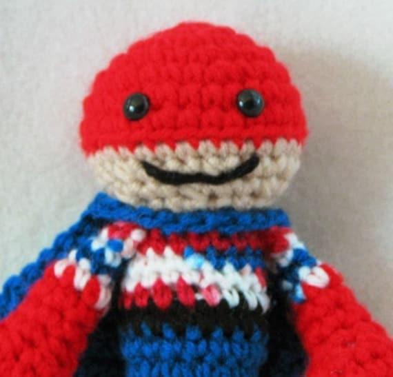 PDF Little Super Hero Amigurumi Crochet Pattern