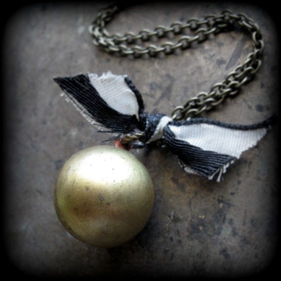 SIDE SHOW  ...  Gypsy Fortune Teller Boho Chic Circus Tent Locket Necklace