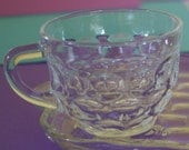 Vintage Snack Set - Federal Glass Yorktown