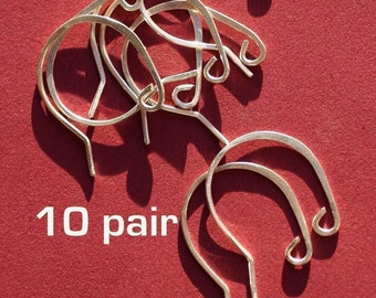SEWR10- Sterling Silver Earwires 10pair
