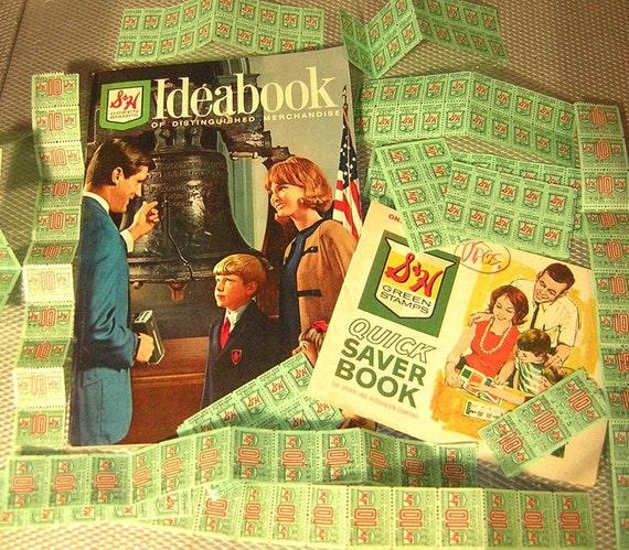 Vintage Merchandise Catalog SH Green Stamps Booklet Ephemera Lot