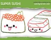 Super Sushi PDF Patterns (5) pages