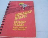Runaway Ralph Journal / Recycled Blank Journal / Blank Book