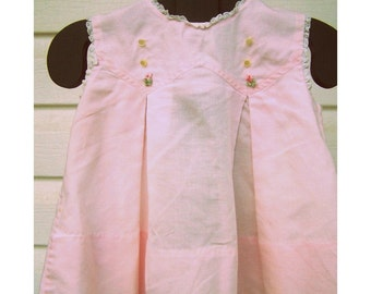 Vintage Baby Dress - Pink - C I Castro