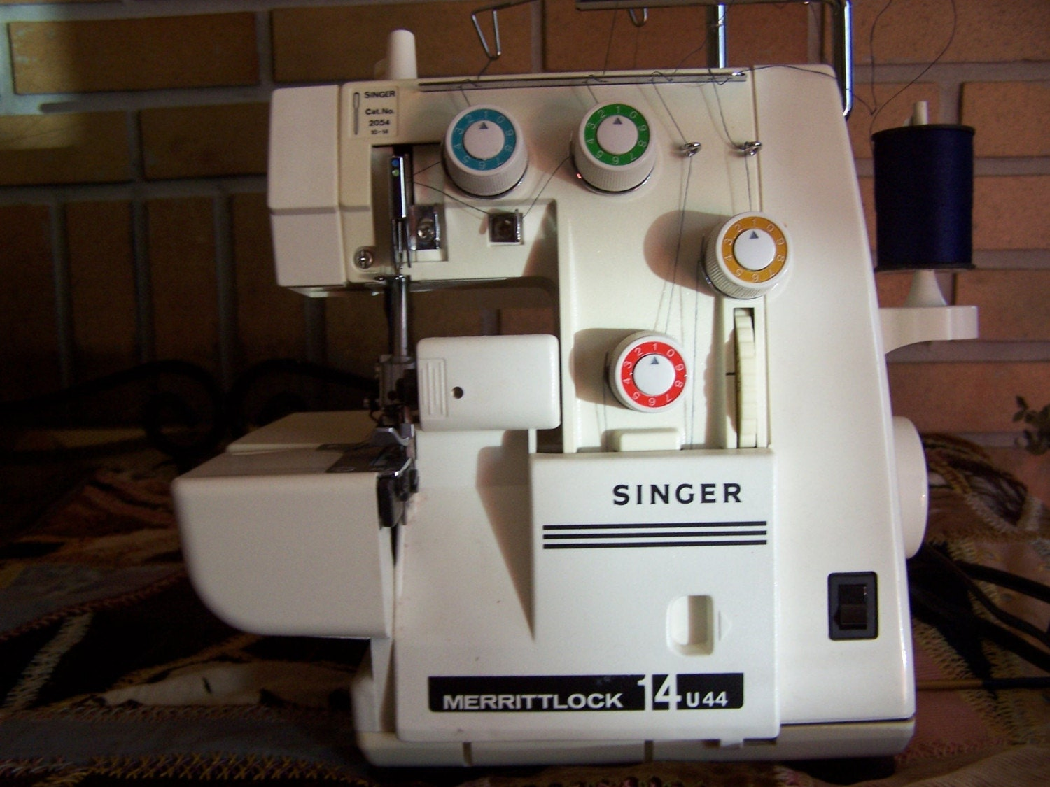 singer merritt overlock serger 14u44 with foot by thehomegnome. Black Bedroom Furniture Sets. Home Design Ideas