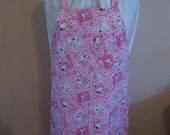 Snoopy Valentine Print Apron FREE SHIPPING CLEARANCE