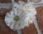 Vintage Flirt Muslin Flower Pattern