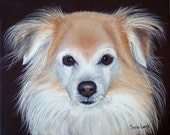 Commissioned Pet Portrait Painting Hand Painted 8 x 10  Your Pet any Animal Sharon Lamb