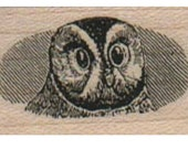 owl stamp Steampunk Victorian  un Mounted   rubber stamp    stamp number 15247