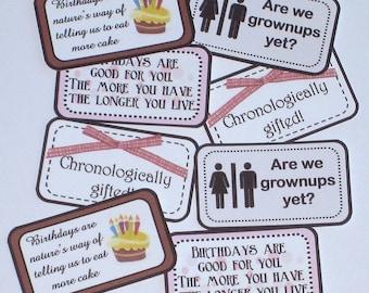 POCKET PERKS - Birthday Perks- Mini Memos to Spread Good Cheer