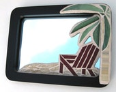 Vacation Escape Glass Mosaic Mirror
