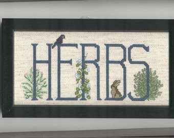 Herbs Cross-stitch