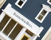 Victorian Shop Dolls House Storage Bookcase - British, Bespoke, Handmade to Order