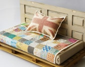 Patchwork Quilt for Dolls House (12th Scale Miniature)