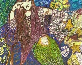 Mermaid Fantasy Original by Rosalie Rushing