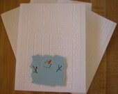 Words of Winter Snowman Cards, Set of 4