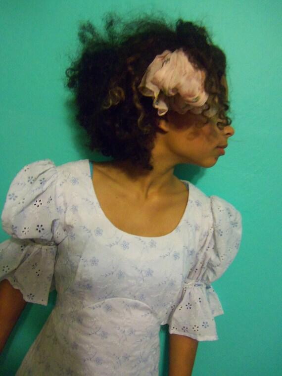 Vintage eyelet Debutant dress