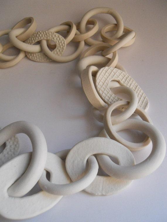 31-link porcelain chain