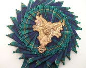 Black Watch Rosette Brooch