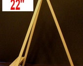 22 inch TABLETOP DISPLAY EASEL - mini miniature