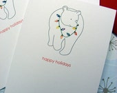 Polar Bear Holiday Cards
