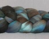 Grackle - Orbit hand-dyed superfine merino top\/roving