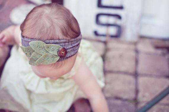 Woodland Babe Leafy Headband
