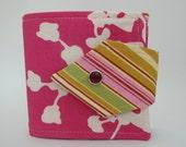 Tomboy Billfold Wallet  Pink Pods