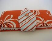 Orange You Glad Checkbook Wallet