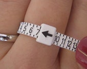 Adjustable Ring Sizer - Find your perfect size - Ready to Ship - Sizes 1 thru 17