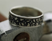 Round and Round We Go - Spinner Ring Handmade in Sustainable Sterling Silver - Made to Order