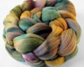 Hand Dyed Merino Wool Roving - 4.2 ounces - no.110