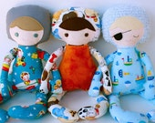 SALE Buddy Boy PDF Doll Pattern