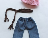 SALE Oh La La Pant Set PDF Pattern Doll Clothing