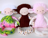 Lilly Lamb PDF Doll Pattern