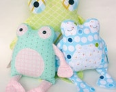 Fritter Frog PDF Doll Pattern