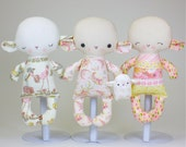 Lamb Baby PDF Doll Pattern