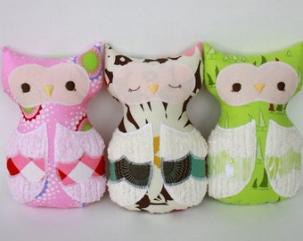 SALE Olivia Owl PDF Doll Pattern