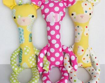 SALE Juju Giraffe PDF Doll Pattern