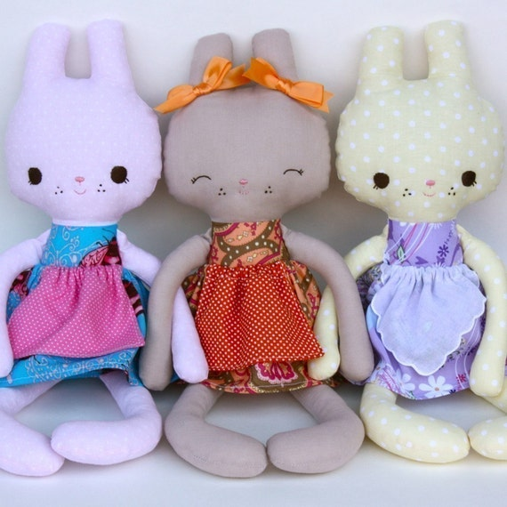 SALE Rose PDF Doll Pattern