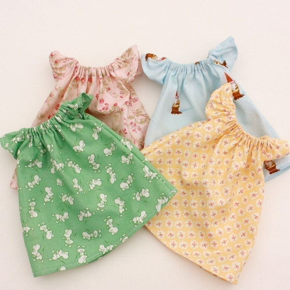 Sale Pretty Peasant Dress Pdf Pattern Doll Clothing