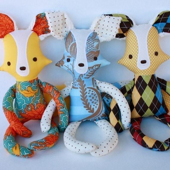 Finnegan Fox PDF Doll Pattern