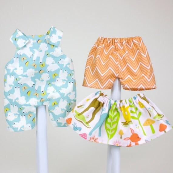 sale baby basics pdf pattern doll clothing