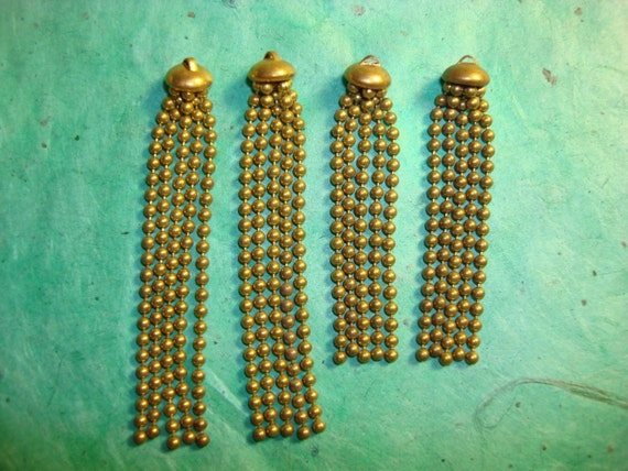 Vintage Ball Chain Tassels-Short Style only still available