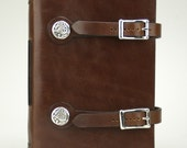 Book of Kells Dragon Leather Journal - Cognac