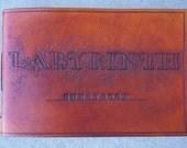 Leather Guest Book-Custom Guest Book