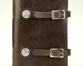 Book of Kells Dragon Leather Journal - Brown